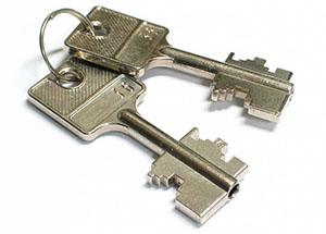 Изготовление ключа для сейфов по замку