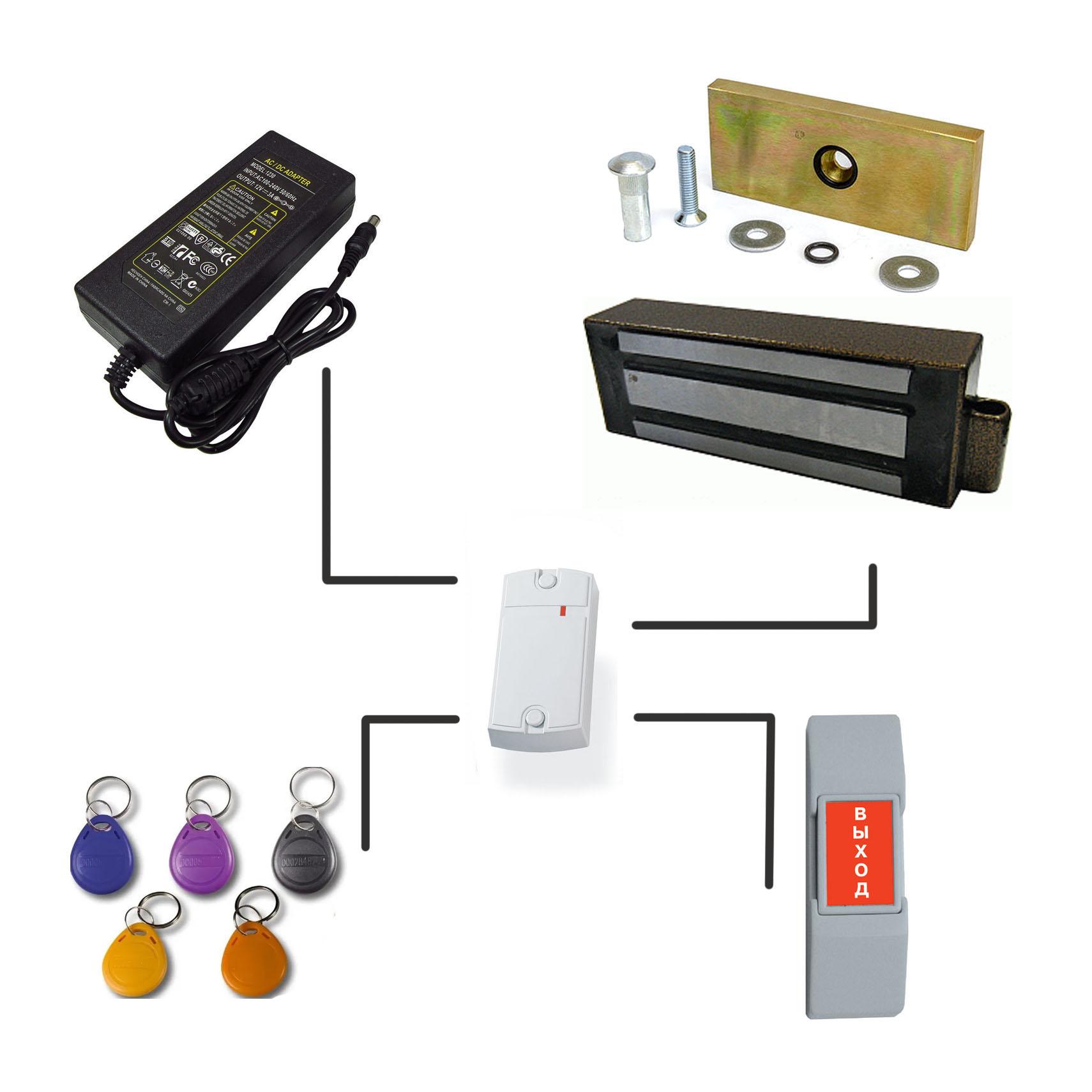 Установка СКУД системы для дверей и калиток.